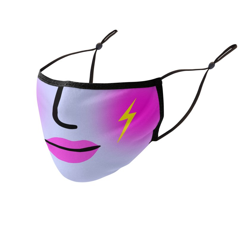 ELECTRIC FACE Accessories Face Mask by Electric Press