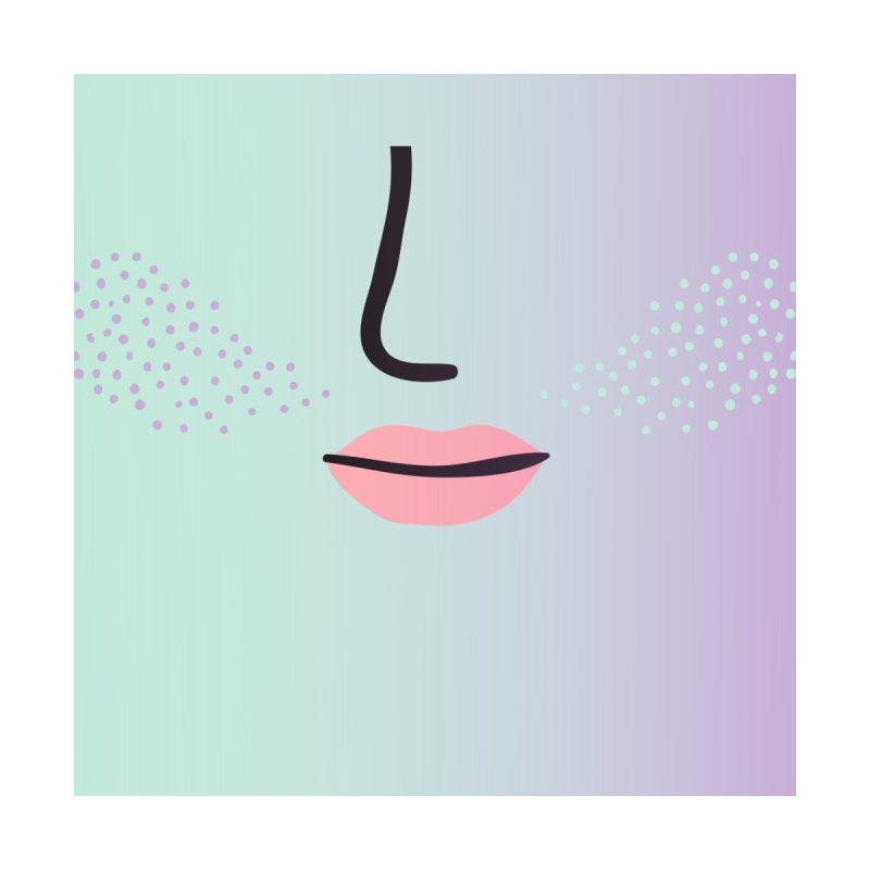 GRADIENT FACE 12 Accessories Face Mask by Electric Press