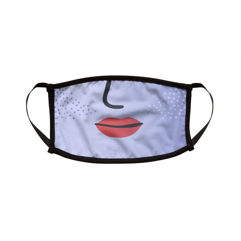 GRADIENT FACE 8 Accessories Face Mask by Electric Press