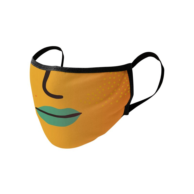 GRADIENT FACE 7 Accessories Face Mask by Electric Press