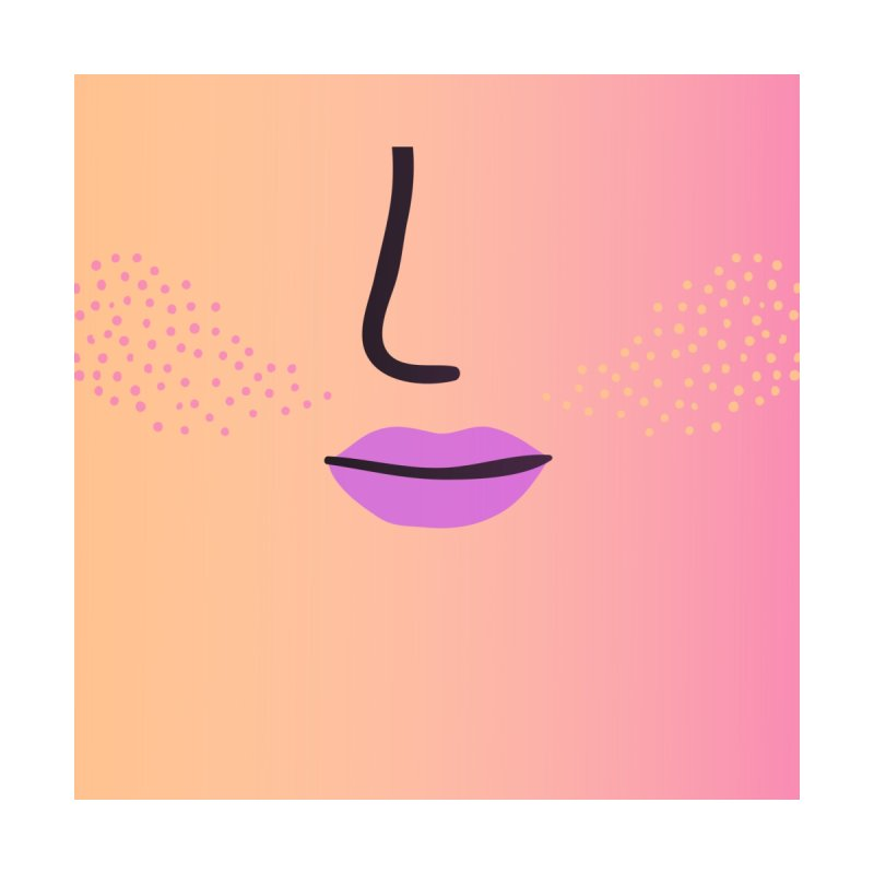 GRADIENT FACE 5 Accessories Face Mask by Electric Press