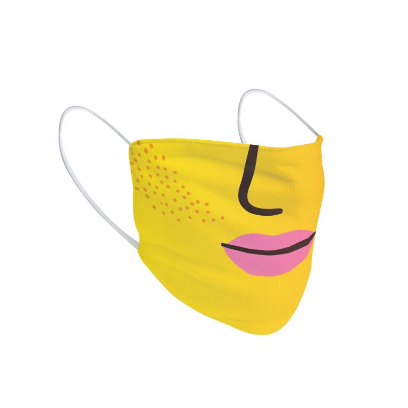 GRADIENT FACE 3 Accessories Face Mask by Electric Press