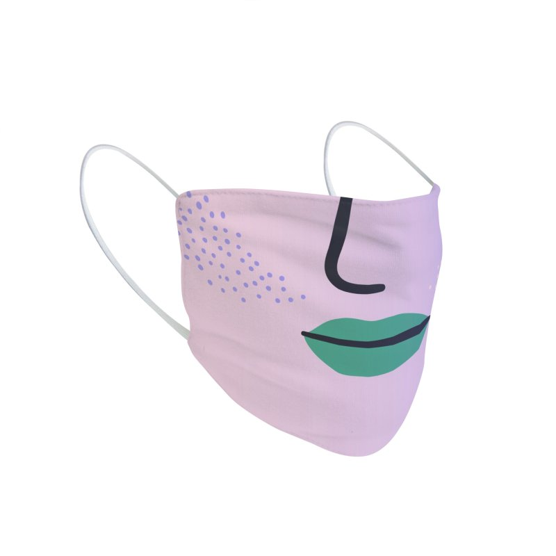 GRADIENT FACE 2 Accessories Face Mask by Electric Press