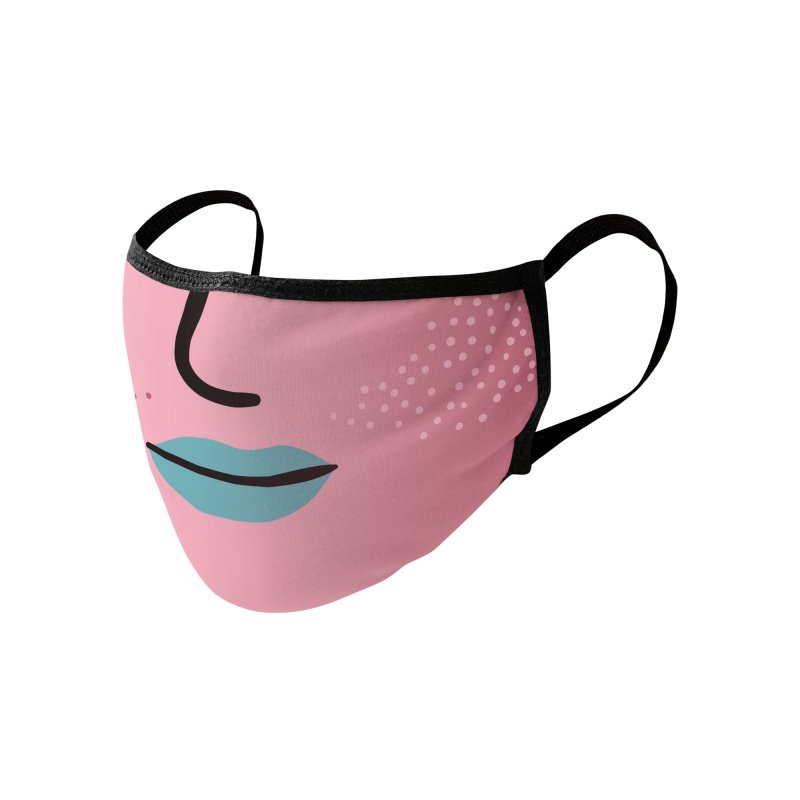 GRADIENT FACE 1 Accessories Face Mask by Electric Press