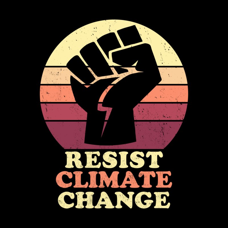 Resist Climate Change Men's T-Shirt by Electrovista's Designs