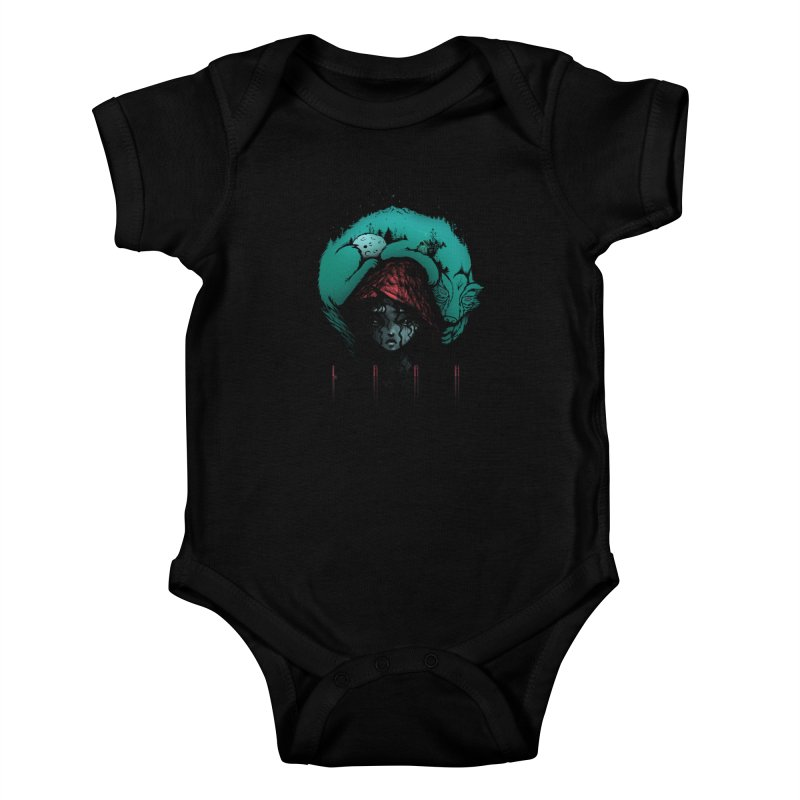LRRH Kids Baby Bodysuit by eleken's Artist Shop