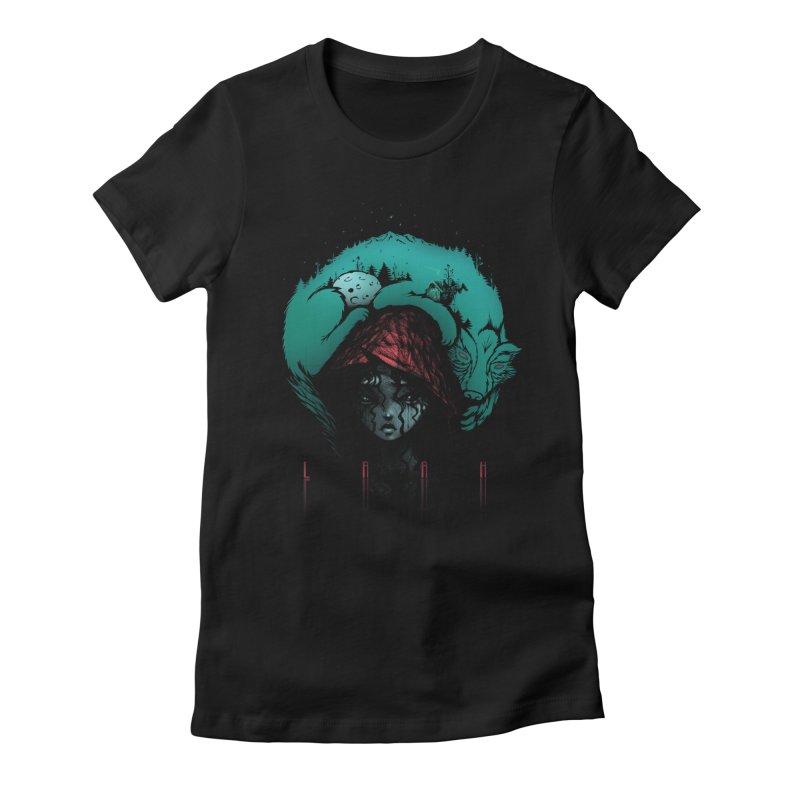 LRRH Women's Fitted T-Shirt by eleken's Artist Shop