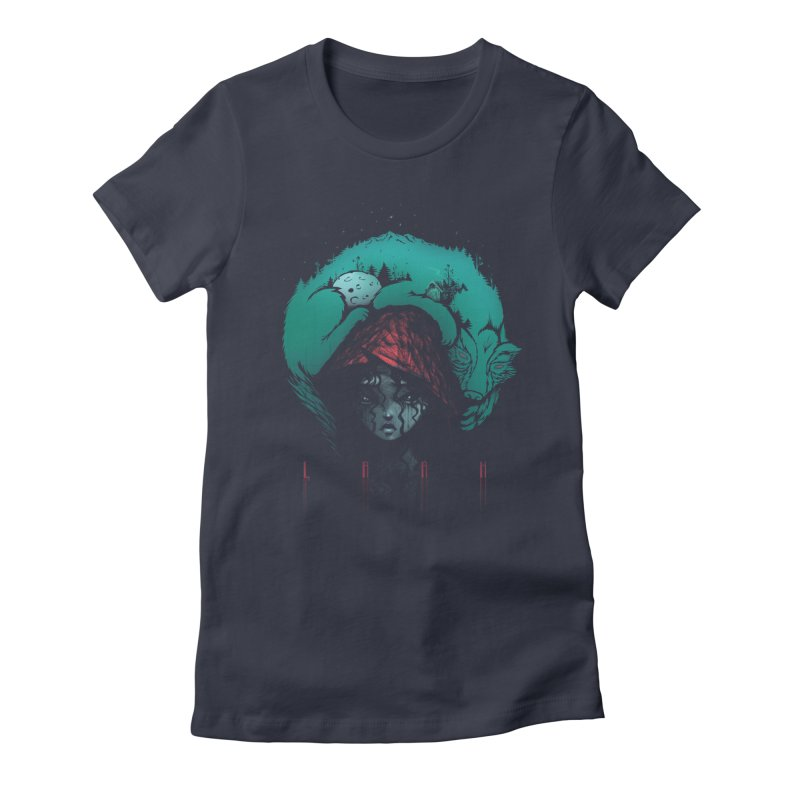 LRRH Women's Fitted T-Shirt by eleken's Artist Shop