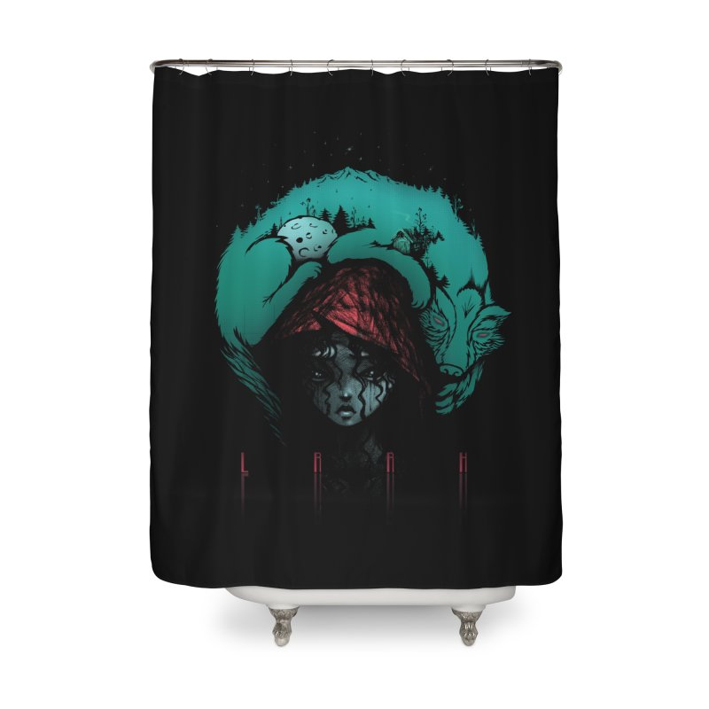 LRRH Home Shower Curtain by eleken's Artist Shop