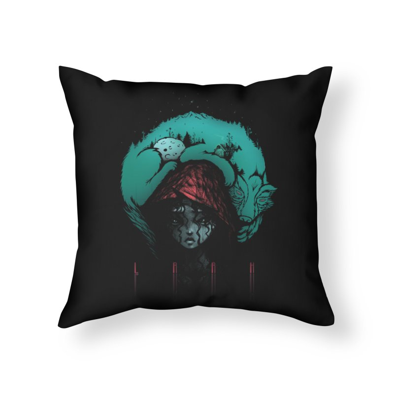LRRH Home Throw Pillow by eleken's Artist Shop