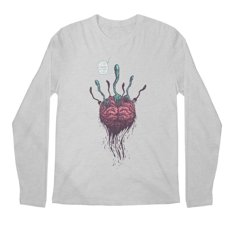 Forking Talkers Men's Longsleeve T-Shirt by eleken's Artist Shop