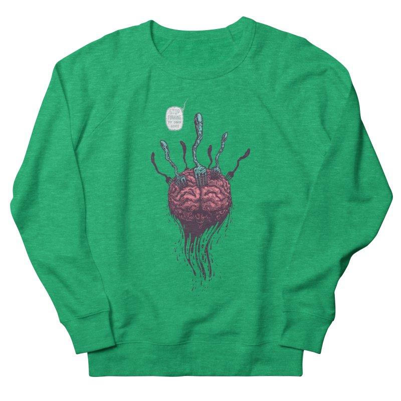 Forking Talkers Men's Sweatshirt by eleken's Artist Shop