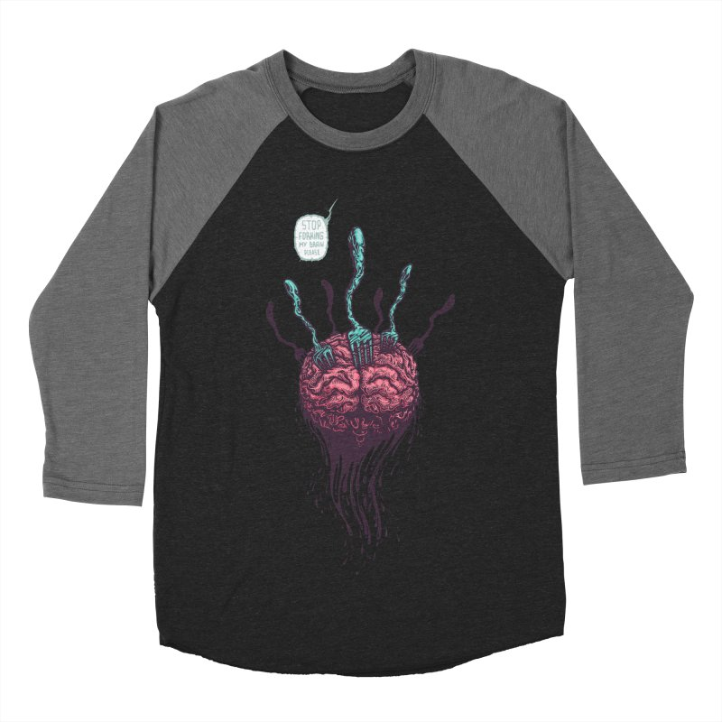 Forking Talkers Women's Baseball Triblend Longsleeve T-Shirt by eleken's Artist Shop