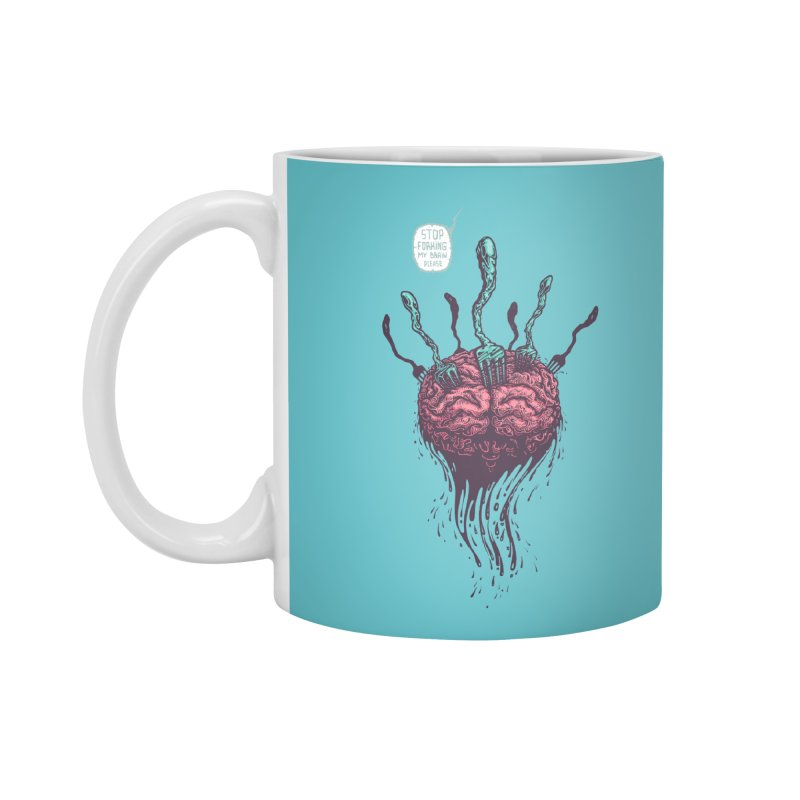 Forking Talkers Accessories Mug by eleken's Artist Shop