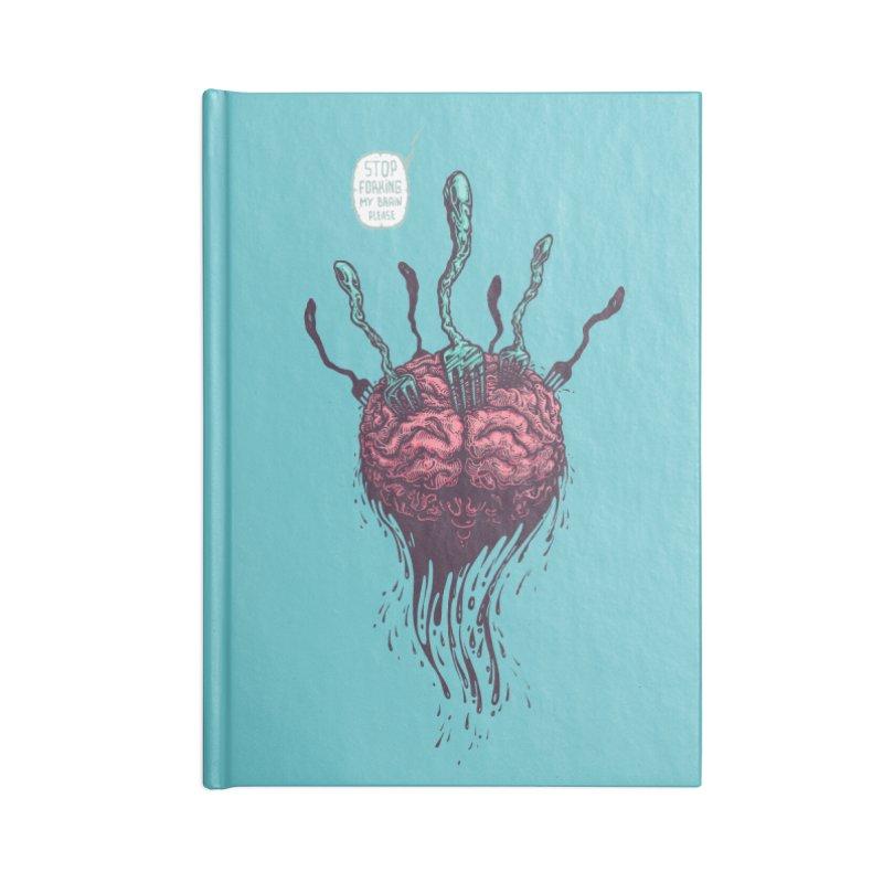 Forking Talkers Accessories Notebook by eleken's Artist Shop