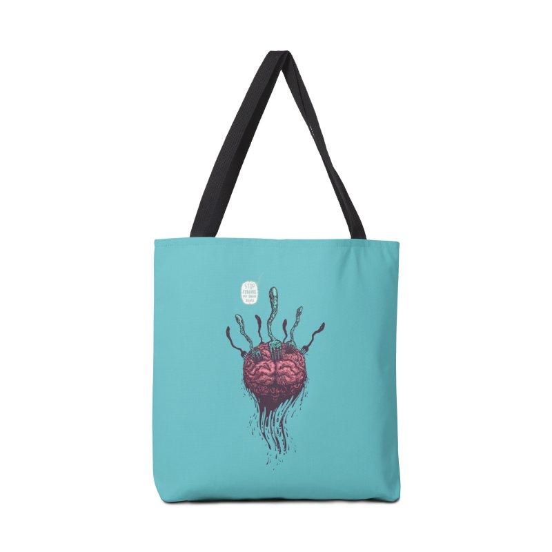 Forking Talkers Accessories Bag by eleken's Artist Shop