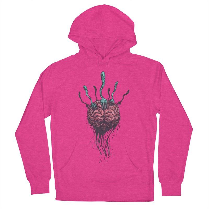 Stop forking my brain Women's Pullover Hoody by eleken's Artist Shop