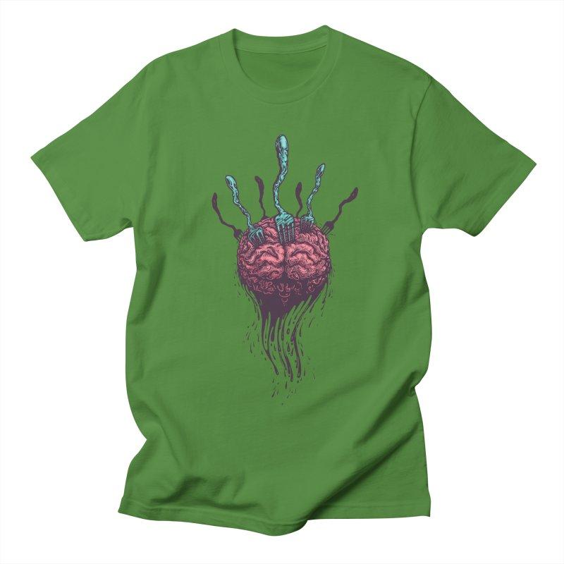 Stop forking my brain Men's T-Shirt by eleken's Artist Shop