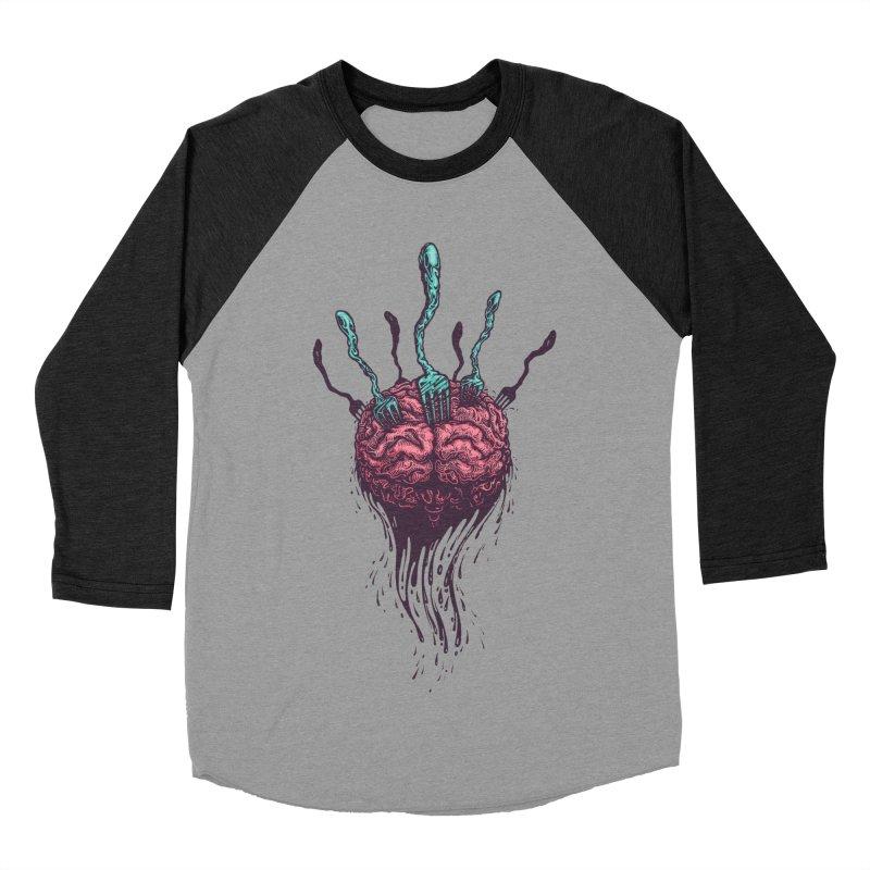 Stop forking my brain Women's Baseball Triblend Longsleeve T-Shirt by eleken's Artist Shop