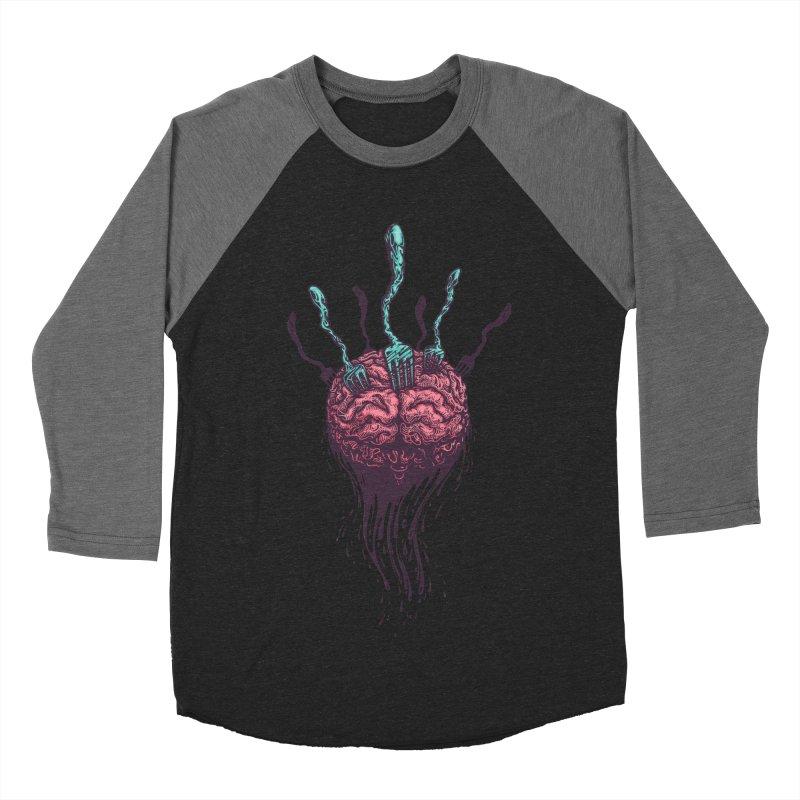 Stop forking my brain Men's Baseball Triblend T-Shirt by eleken's Artist Shop