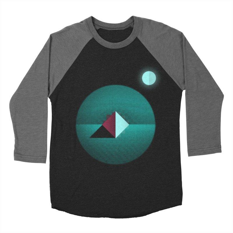 Shapes1 Men's Baseball Triblend T-Shirt by eleken's Artist Shop