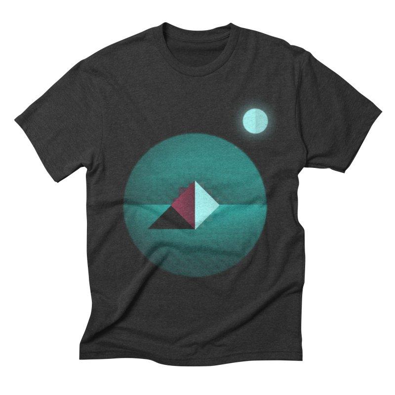 Shapes1 Men's Triblend T-shirt by eleken's Artist Shop
