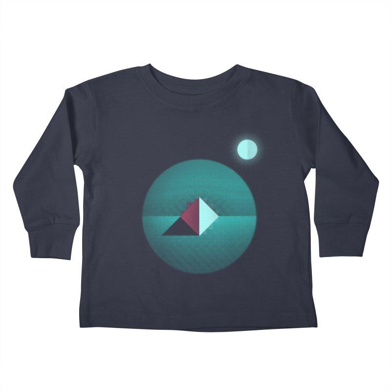 Shapes1 Kids Toddler Longsleeve T-Shirt by eleken's Artist Shop