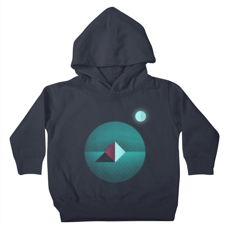 Shapes1 Kids Toddler Pullover Hoody by eleken's Artist Shop