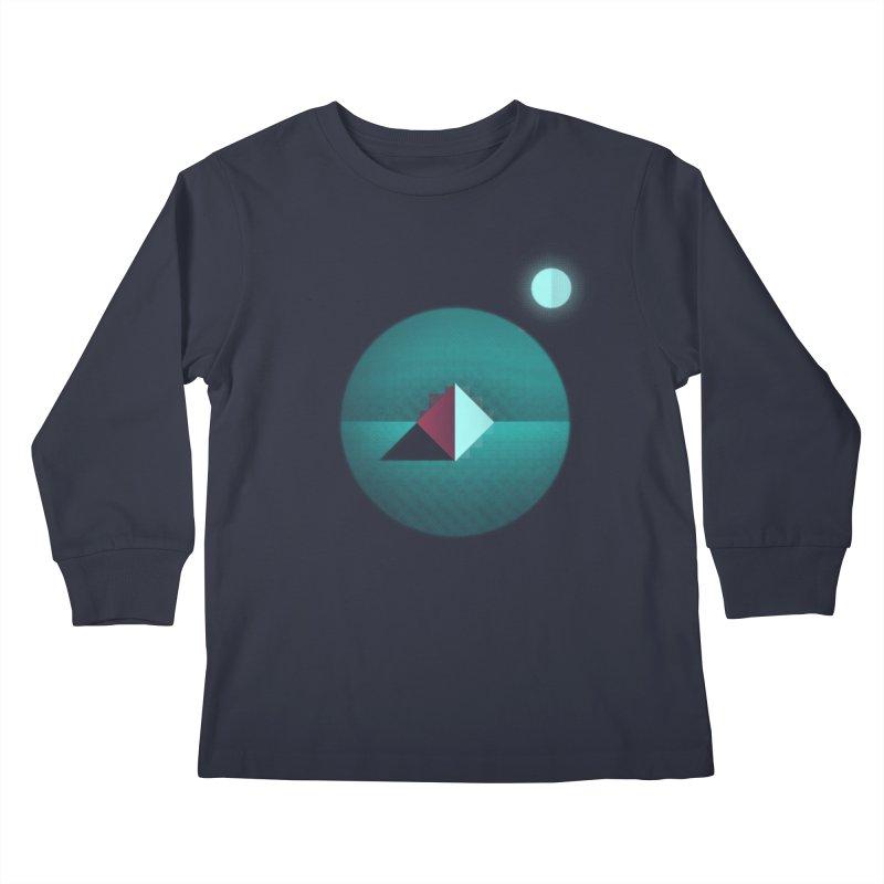 Shapes1 Kids Longsleeve T-Shirt by eleken's Artist Shop