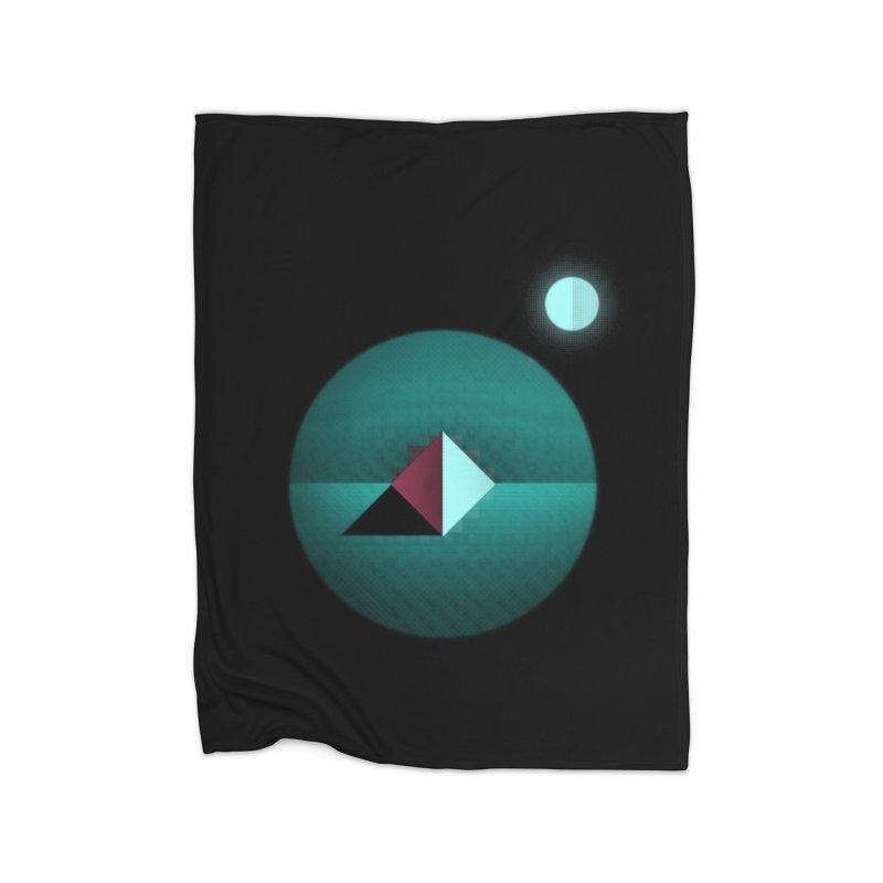 Shapes1 Home Blanket by eleken's Artist Shop