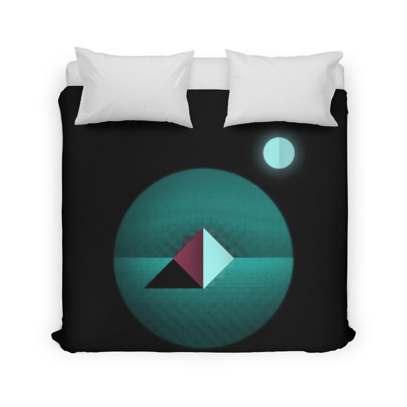 Shapes1 Home Duvet by eleken's Artist Shop