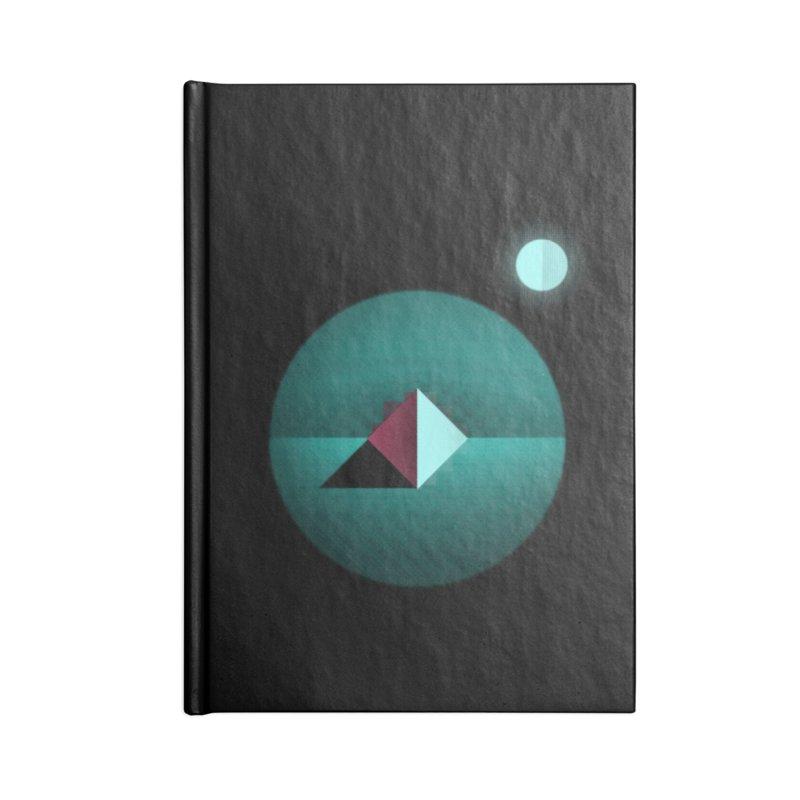 Shapes1 Accessories Notebook by eleken's Artist Shop