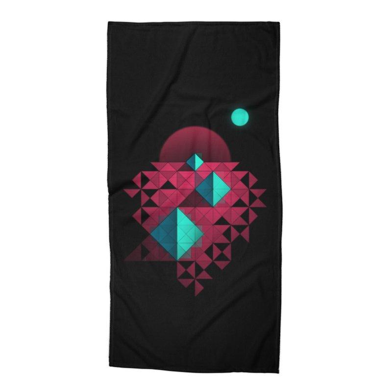 Shapes2 Accessories Beach Towel by eleken's Artist Shop