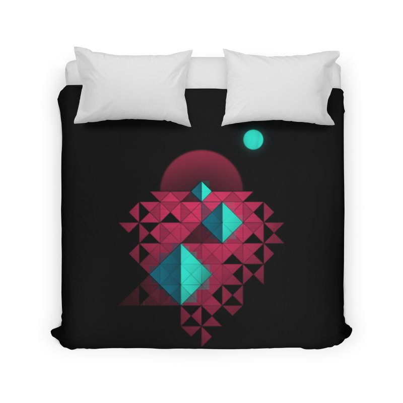 Shapes2 Home Duvet by eleken's Artist Shop