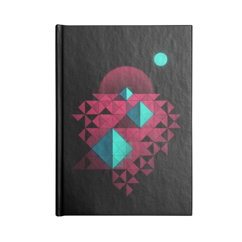 Shapes2 Accessories Notebook by eleken's Artist Shop