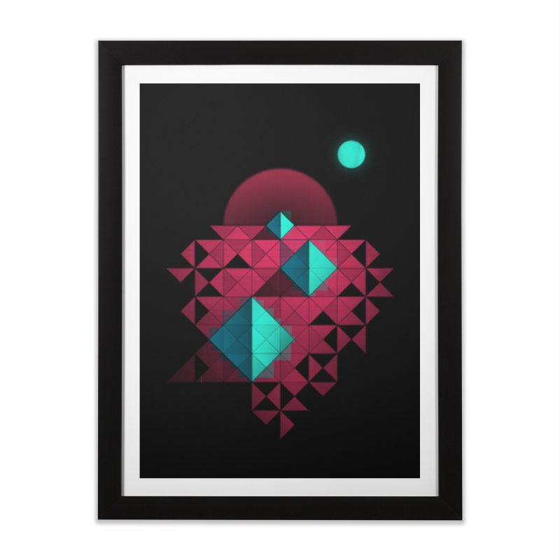 Shapes2 Home Framed Fine Art Print by eleken's Artist Shop