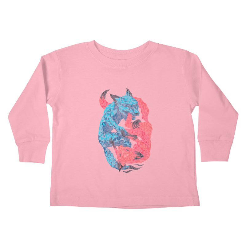 Chase Kids Toddler Longsleeve T-Shirt by eleken's Artist Shop