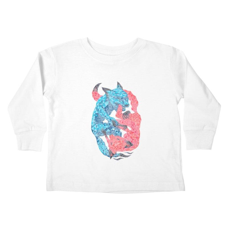 Chase Kids Toddler Longsleeve T-Shirt by eleken's Artist Shop