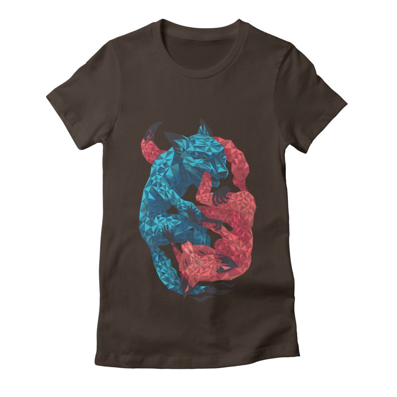 Chase Women's Fitted T-Shirt by eleken's Artist Shop