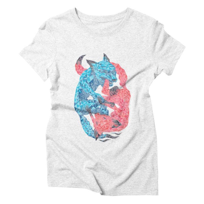 Chase Women's Triblend T-shirt by eleken's Artist Shop