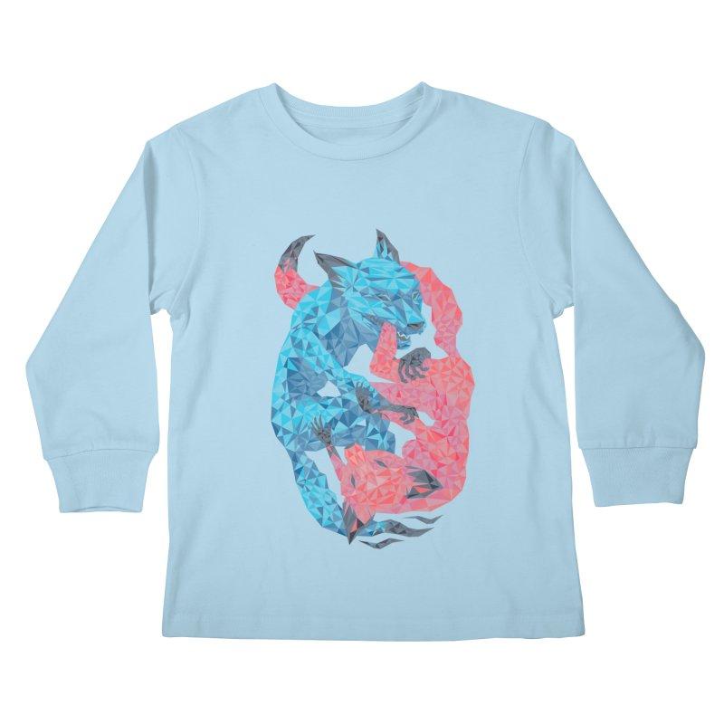 Chase Kids Longsleeve T-Shirt by eleken's Artist Shop