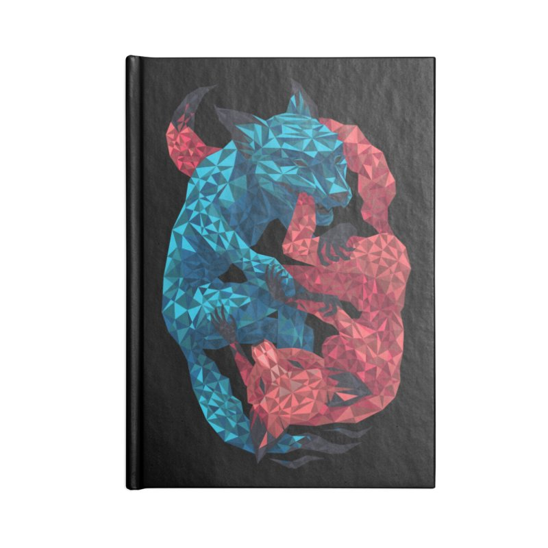 Chase Accessories Notebook by eleken's Artist Shop