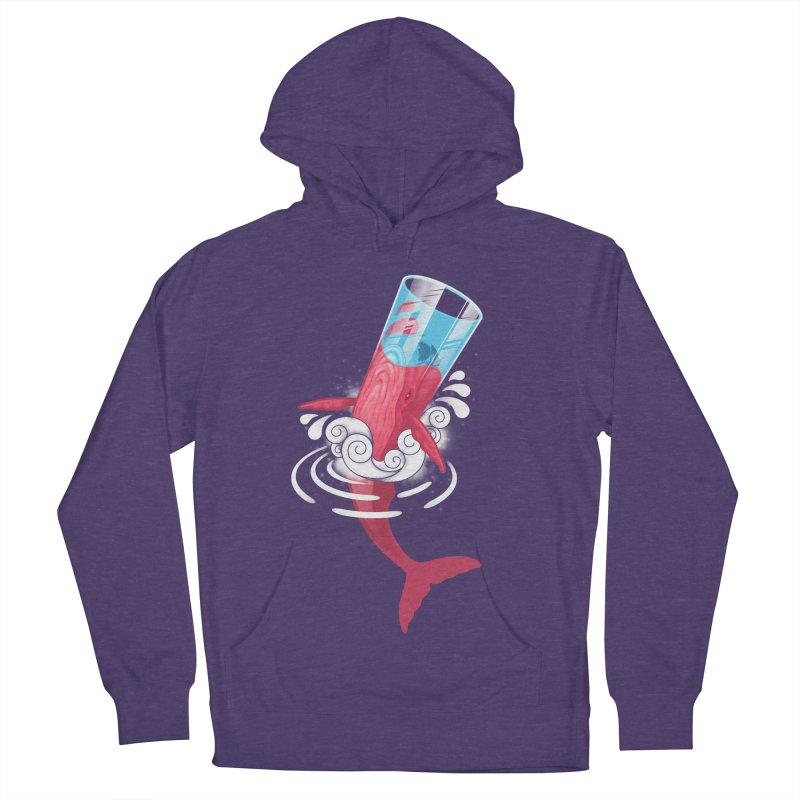 Whale Men's Pullover Hoody by eleken's Artist Shop