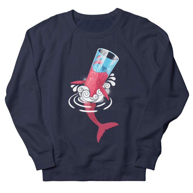 Whale Men's Sweatshirt by eleken's Artist Shop