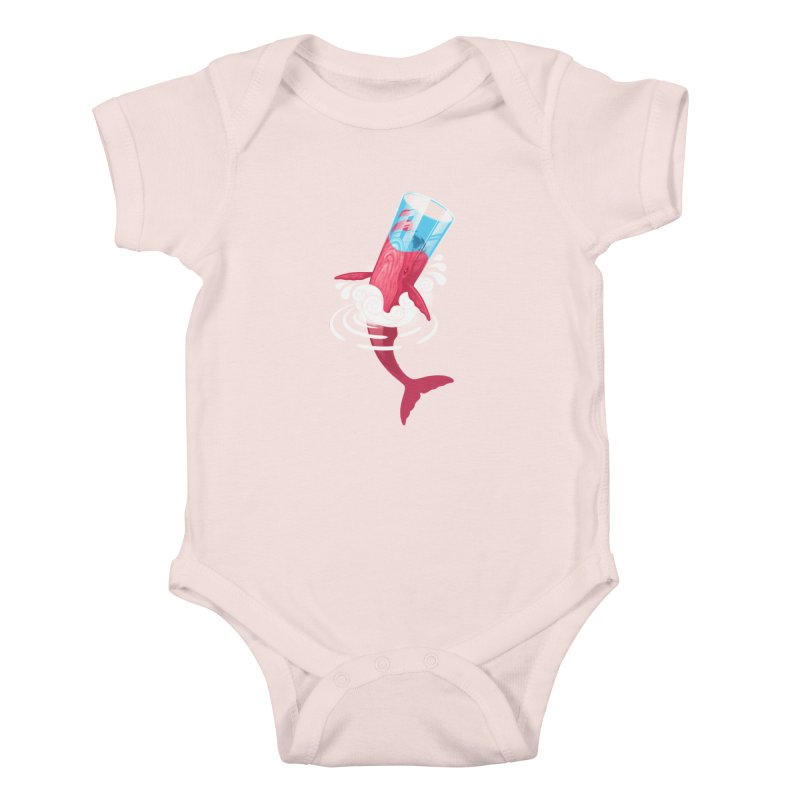 Whale Kids Baby Bodysuit by eleken's Artist Shop