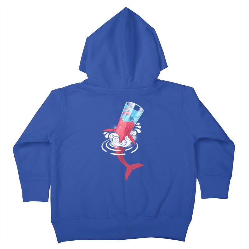 Whale Kids Toddler Zip-Up Hoody by eleken's Artist Shop