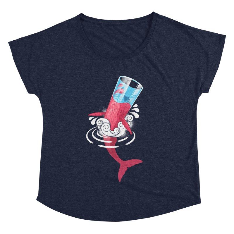 Whale Women's Dolman by eleken's Artist Shop
