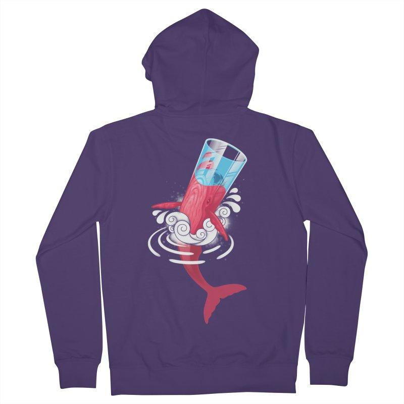 Whale Women's Zip-Up Hoody by eleken's Artist Shop