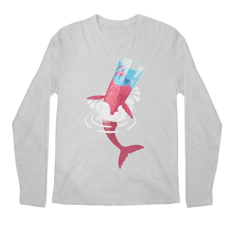 Whale Men's Longsleeve T-Shirt by eleken's Artist Shop