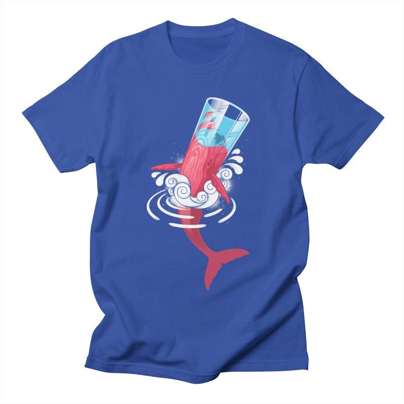 Whale Women's Unisex T-Shirt by eleken's Artist Shop